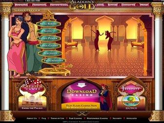 Aladdin's gold casino flash